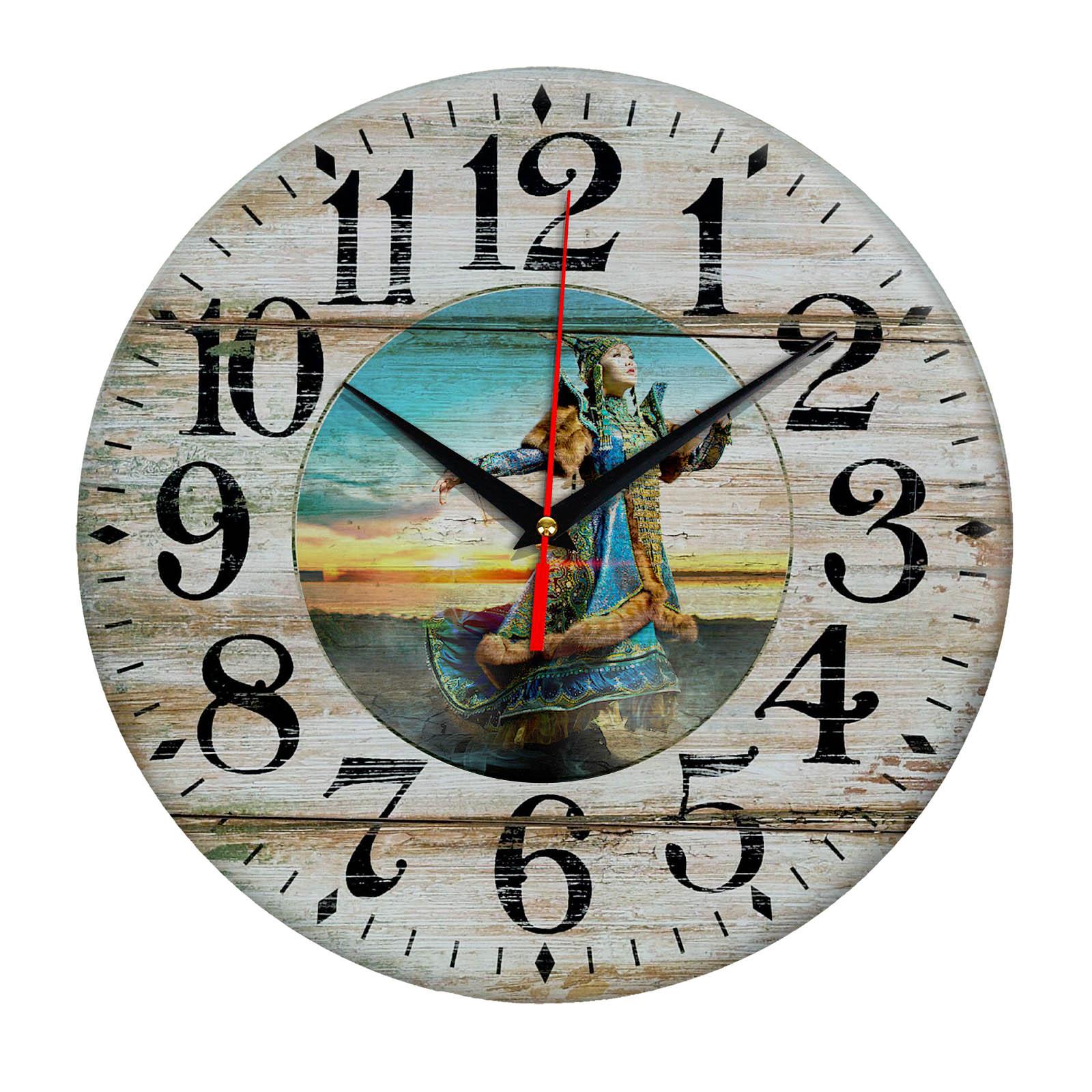 Часы настенные «Волшебница Якутии»