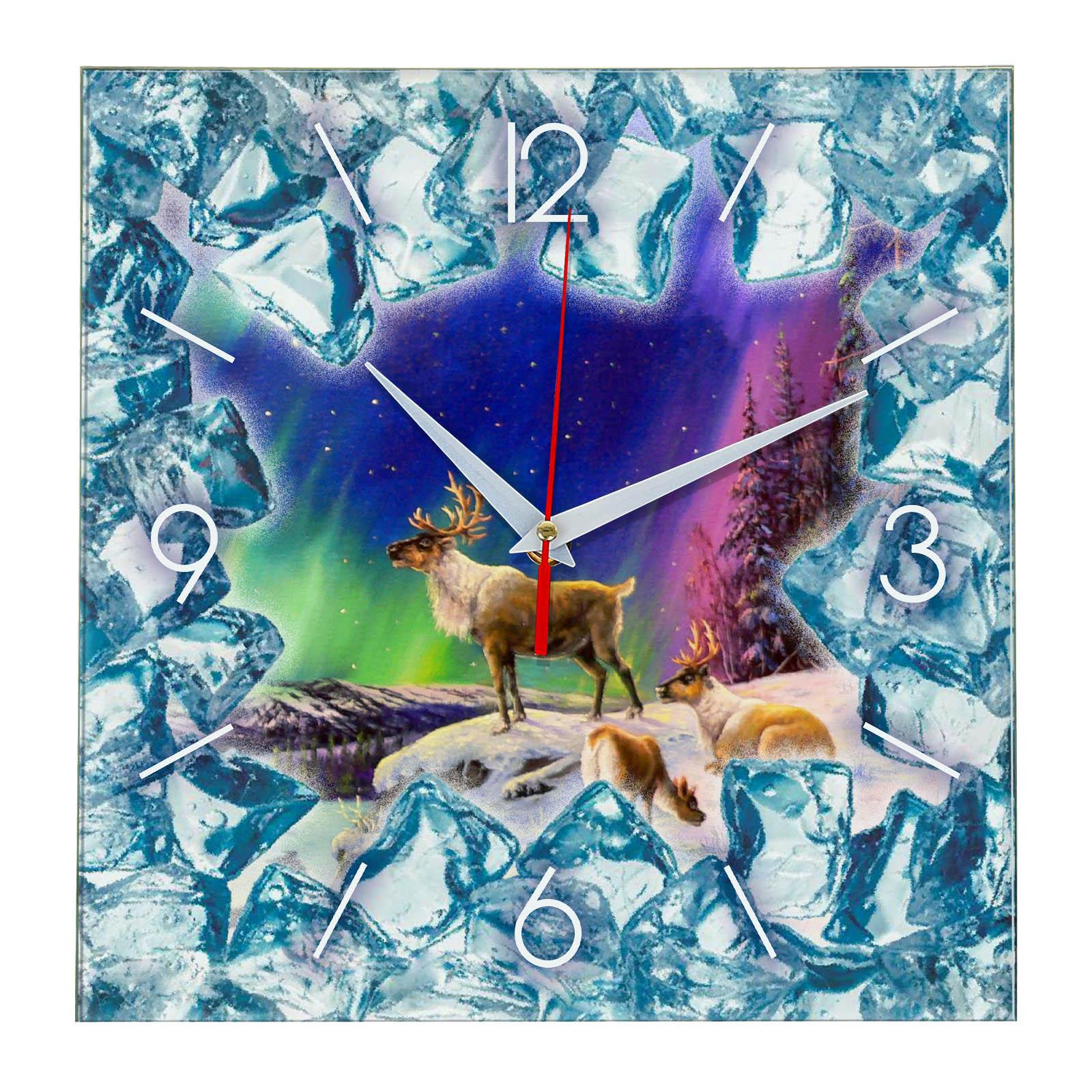 Часы настенные «Якутия во Льду»