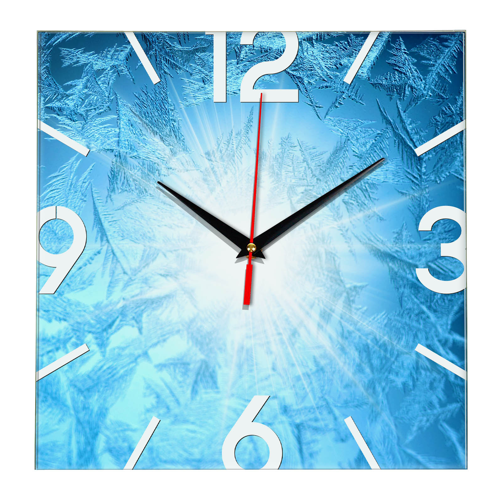 часы сувенир Якутия Кристаллы