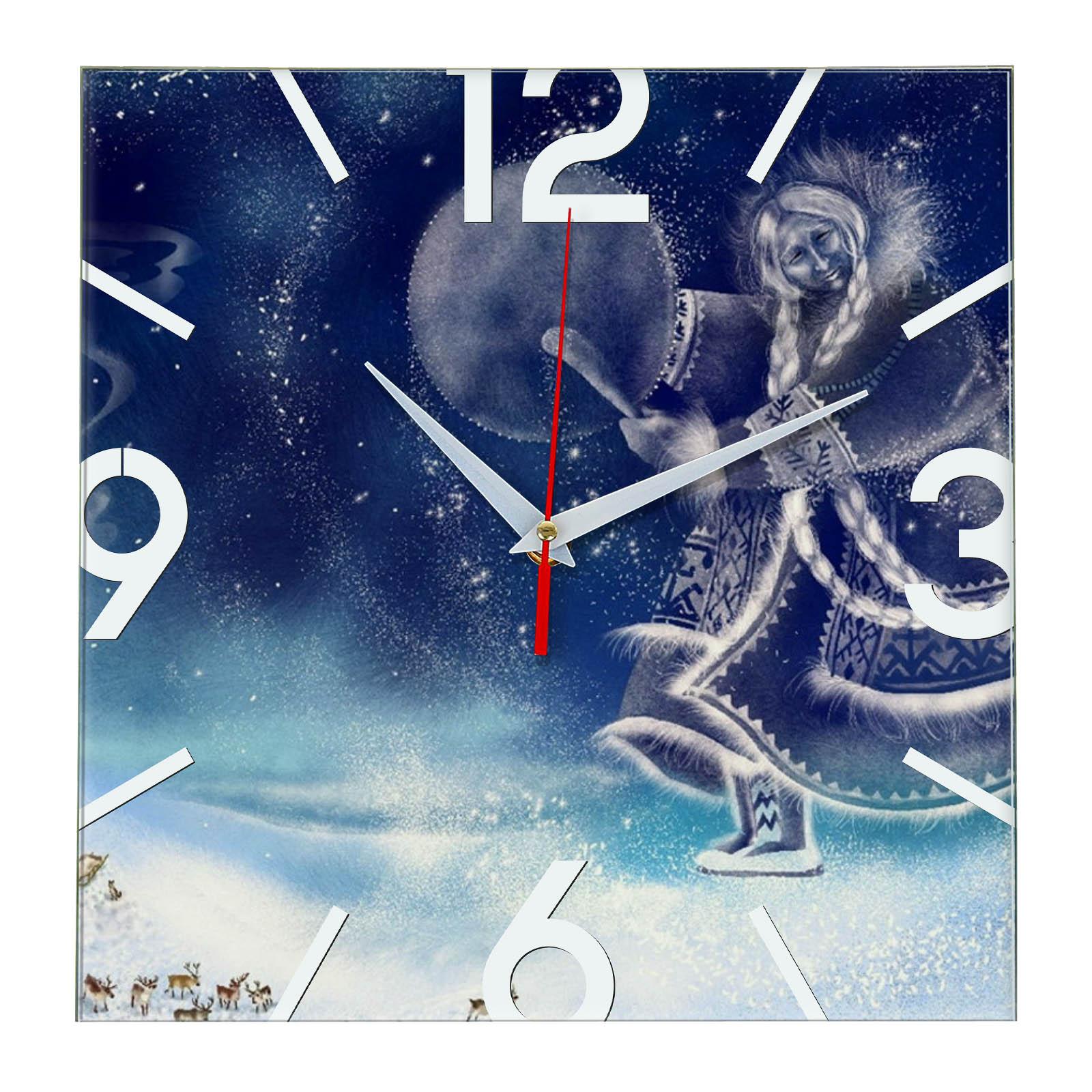 Часы настенные «Шаман Якутии»
