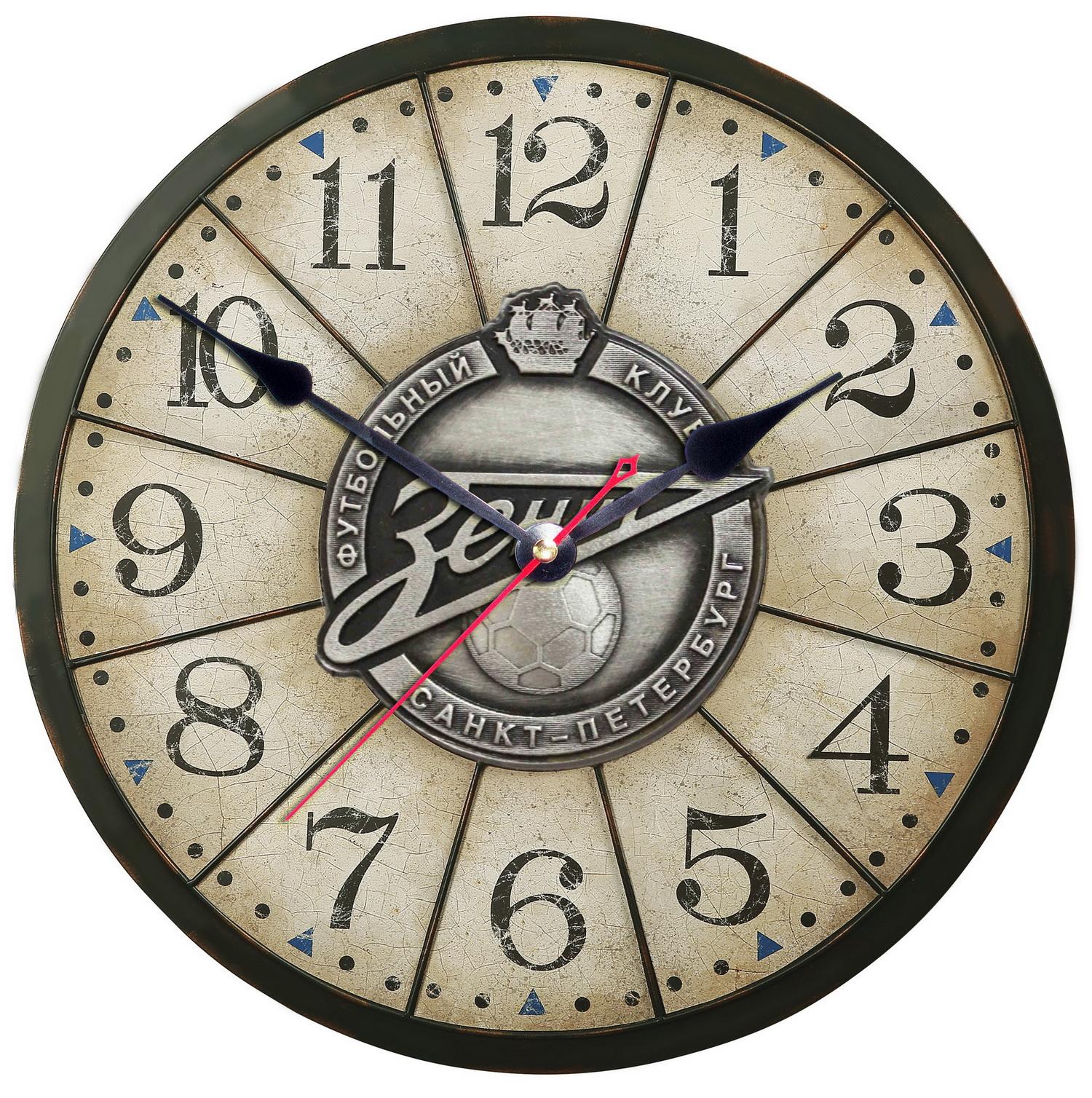 Зенит часы с символикой клуба