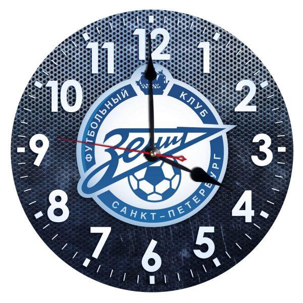 Зенит Питер часы с символикой клуба