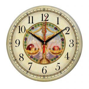 Сувенир – часы Zodiac sign libra
